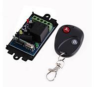 economico -dc12v 1ch rf interruttore di controllo remoto wireless / apprendimento codice 10a relè ricevitore / led on / off interruttore 433 mhz