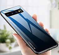 abordables -teléfono Funda Para Samsung galaxia Funda Trasera S9 S9 Plus S8 Plus S8 S10 S10 + Galaxy S10 E Galaxy S10 5G Antigolpes Gradiente de Color Dura TPU Vidrio Templado