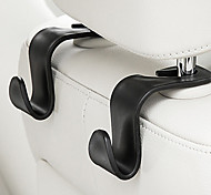 abordables -petite voiture recevoir sac crochet créatif accessoires automobiles multifonctions 2pcs