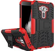 economico -telefono Custodia Per Asus Per retro Asus Zenfone 3 ZE520KL (5.2) Resistente agli urti Con supporto Armatura Armatura Resistente PC