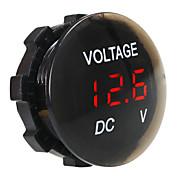 abordables -Affichage numérique de voltmètre étanche et antipoussière de panneau numérique DC 12V-24V pour camion voiture moto SUV bateau ATV radoub accessoires