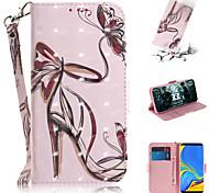 economico -telefono Custodia Per Samsung Galaxy Integrale Custodia in pelle A3 A5 A7 Galaxy A9 (2018) A30 A50 A40 A90 A70 Galaxy A2 Core A portafoglio Porta-carte di credito Con supporto Signora sexy pelle