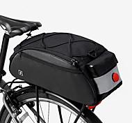 economico -10 L Borse posteriori da bici Ompermeabile Portatile Indossabile Borsa da bici Poliestere 600D Marsupio da bici Borsa da bici Ciclismo Bicicletta
