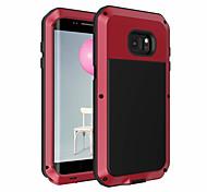 economico -telefono Custodia Per Samsung Galaxy Per retro Bordo S7 A prova di sporco Backup Tinta unica Morbido TPU
