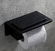 abordables -Porte Papier Toilette Créatif contemporain Acier inoxydable 1 pc - Salle de Bain Montage mural