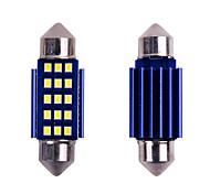 economico -10 pz festone canbus c5w led luce interna 31mm 36mm 39mm 41mm 12smd 2016 chip led auto dome free no error auto lampada da lettura 12 v