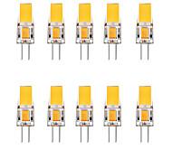 economico -10 pezzi 2.5 W Luci LED Bi-pin 3000 lm G4 1 Perline LED Bianco caldo Bianco 12 V