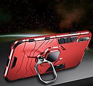 economico -telefono Custodia Per Samsung Galaxy Per retro Antiurto Silicone A8 2018 A8+ 2018 A7 Galaxy A9 (2018) A10 A30 A50 A20 A40 A90 Resistente agli urti Con supporto Supporto ad anello Armatura Resistente