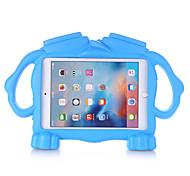 "economico -telefono Custodia Per Apple Per retro iPad Mini 3/2/1 iPad Mini 4 iPad Mini 5 A prova di bambino Tinta unita Fantasia ""Cartone 3D"" EVA"