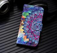 economico -telefono Custodia Per Samsung Galaxy Integrale Custodia in pelle A3 A5 A8 2018 A8+ 2018 A7 Galaxy A9 (2018) A10 A30 A50 A20 A portafoglio Porta-carte di credito Con supporto Floreale Resistente pelle
