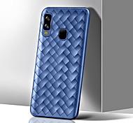 economico -telefono Custodia Per Samsung Galaxy Per retro Silicone Custodia in silicone A6 (2018) A6+ (2018) A7 Galaxy A9 (2018) A10 A30 A50 A20 A40 A70 Resistente agli urti Ultra sottile Tinta unita TPU