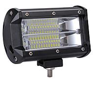 abordables -la puissance élevée professionnelle 240w a mené 2 rangées 5inch la barre de lumière de travail conduisant la température de couleur de lampe 6000k paquet 1pc