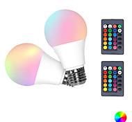 economico -2pcs 5 W Lampadine LED smart 300 lm E26 / E27 5 Perline LED SMD 5050 Smart Oscurabile RGBW 85-265 V
