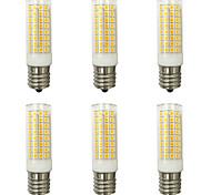 abordables -6pcs 10 W Ampoules Maïs LED 1000 lm E14 G9 E12 T 102 Perles LED SMD 2835 Design nouveau Blanc Chaud Blanc Froid 220-240 V 110-120 V