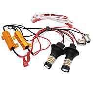 abordables -Automatique LED Feux de Circulation Diurnes / Clignotants BAU15S Ampoules électriques Pour Volkswagen / Toyota / Honda Toutes les Années 2 pièces