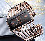 economico -Per donna Donne Orologio braccialetto orologio d'oro Analogico Quarzo Elegante Orologio casual Fantastico Quadrante grande / Un anno / Acciaio inossidabile