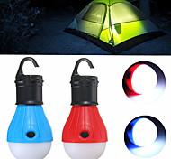abordables -Lanternes & Lampes de tente Mini Petit 60 lm LED Émetteurs 3 Mode d'Eclairage Mini Urgence Petit Camping / Randonnée / Spéléologie Usage quotidien Multifonction Jaune Vert Rouge