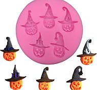 economico -forma di zucca di halloween torta fondente stampo in silicone stampo per caramelle al cioccolato biscotti da forno stampi per pasticceria strumenti per decorare la torta