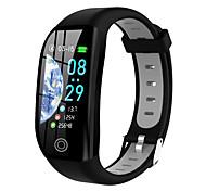 abordables -F21 Montre intelligente avec bracelet pour Android iOS Samsung Apple Xiaomi Bluetooth 0.96 pouce Taille de l'écran IP68 Niveau imperméable Imperméable Ecran Tactile Moniteur de Fréquence Cardiaque