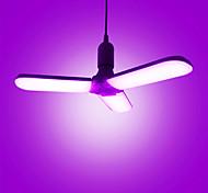 abordables -commutateur de luminosité zdm 45w e27 à trois niveaux gradation ampoule led super-lumineux parapluie pliant lampe ac85-265v