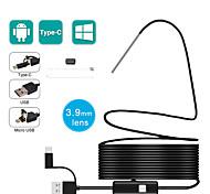 economico -3,9 mm 3 in 1 telecamera per endoscopio android ip67 fotocamera a serpente impermeabile con 6 luci a led