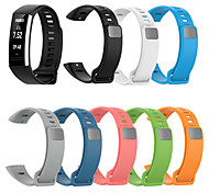 abordables -1 pièces Bracelet de Montre  pour Huawei Bande de sport Silikon Sangle de Poignet pour Huawei bande 2 pro