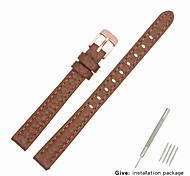 economico -vera pelle / Pelle / Pelo di vitello Cinturino per orologio  Marrone altro / 17 cm / 6,69 pollici / 19 cm / 7,48 pollici 1 cm / 0,39 pollici