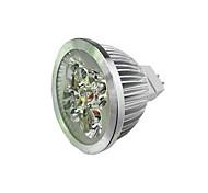 abordables -1pc 4 W Spot LED 300 lm MR16 4 Perles LED LED Haute Puissance Blanc Chaud