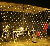economico -ha condotto le luci di rete luci di agitazione della tenda 6mx4m 672leds 3mx2m 200leds 1.5mx1.5m 96leds bianco caldo bianco blu multi colore per la decorazione della festa in camera collegabile 220v