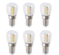 economico -6 pz 3 W Lampadine globo LED 300 lm E14 26 Perline LED SMD 2835 Bianco caldo Bianco 220-240 V