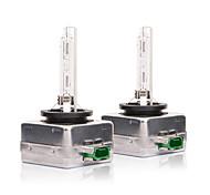 abordables -1 paire d3s voiture lumière rapide lampe au xénon 6000k phares ampoule de rechange pour rv suv mpv voiture standard voltage12v