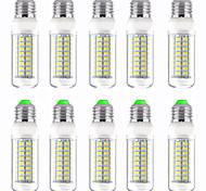 economico -10 pezzi 12 W LED a pannocchia 1200 lm E14 GU10 B22 T 72 Perline LED SMD 5730 Nuovo design Bianco caldo Bianco 220-240 V 110-120 V