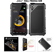 abordables -étui pour apple iphone 8 plus / iphone 8 / iphone 7 plus / 6splus / 6 dorsal antichoc / résistant à l'eau solide en métal coloré