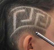 abordables -magie professionnelle graver des ciseaux à cheveux de barbe stylo à découper les sourcils tatouage ciseaux de coiffure de coiffeur pour les coiffures en contre-dépouille stylo de rasage de gravure de