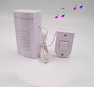abordables -dingdong wired doorbell sonnette électronique maison avec ligne démodé son simple craquant
