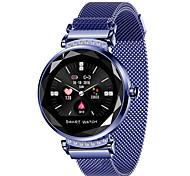 economico -h2 cinturino intelligente per donna monitor della pressione arteriosa cardiofrequenzimetro smart watch schermo a colori dinamico fitness tracker braccialetto sportivo