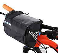 economico -3 L Sacca da manubrio bici Portatile Anti-pioggia Indossabile Borsa da bici Pelle PVC Nylon 400D Marsupio da bici Borsa da bici Ciclismo Attività all'aperto Bicicletta