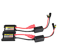 abordables -1pc set universel dc 12v 35w ballast mince caché kit de conversion de remplacement
