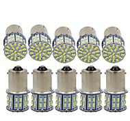 abordables -10 pièces 12 v 6000 k 1156 voiture 3014 50smd voiture lumière LED feu de recul feu de freinage clignotant lumière moto lumière