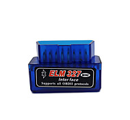 abordables -mini elm327 bluetooth obd2 v2.1 obd 2 scanner d'outil de diagnostic de voiture elm327 obdii adaptateur outil de diagnostic automatique lecteur de code de voiture