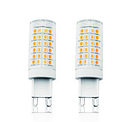 abordables -loende 2pcs 7w led lumières de maïs led lumières bi-pin 800 lm g9 t 78 perles led smd 2835 dimmable blanc chaud 110-130 v 200-240 v