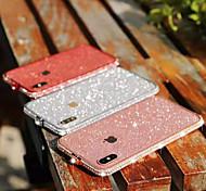 abordables -étui pour apple iphone xs / iphone xr / iphone xs max / 7 8 plus / 6splus / 6s strass couverture arrière strass métal brillant