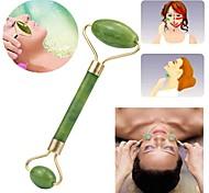abordables -jade masseur facial rouleau relaxation minceur outil beauté outil lifting