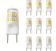 economico -10 pezzi 2 W Luci LED Bi-pin 200 lm G8 T 17 Perline LED SMD 2835 Nuovo design Bianco caldo Bianco 110-120 V