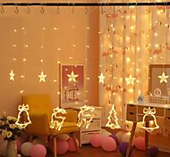 economico -BRELONG® 3M Fili luminosi 12 LED SMD 0603 1pc Bianco caldo Feste Decorativo Vacanze 220 V 110-120 V / IP44