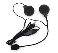 abordables -Casque casque Style de pendaison d'oreille avec câble / MP3 Moto