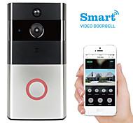 abordables -k-03l 1280 x 960 wifi photographié sans écran (sortie par application) téléphone sonnette vidéo vidéo intelligente angle de vision de 166 ° système de sécurité pour la maison par un visiophone