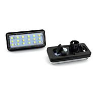 abordables -2pcs / set led kit éclairage de plaque d'immatriculation sans erreur pour lexus lx470 gx470 toyota land cruiser voiture