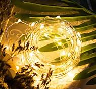 economico -LOENDE 5m Fili luminosi 50 LED Bianco caldo Colori primari Bianco Feste Decorativo Matrimonio Batterie alimentate