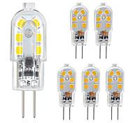 abordables -zdm g4 led pack 6 pack 2.5w led bi-goupille base g4 10-20w remplacement de l'ampoule halogène blanc chaud / blanc froid ac220v